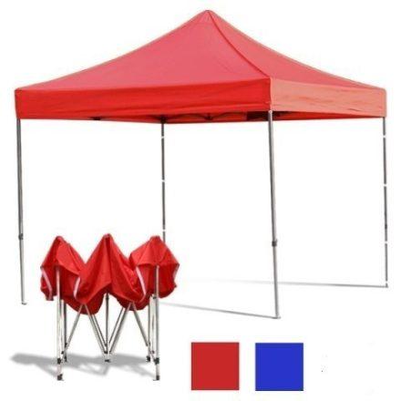 Összecsukható kerti pavilon 3*3 méteres sátor piros RAM-MD206