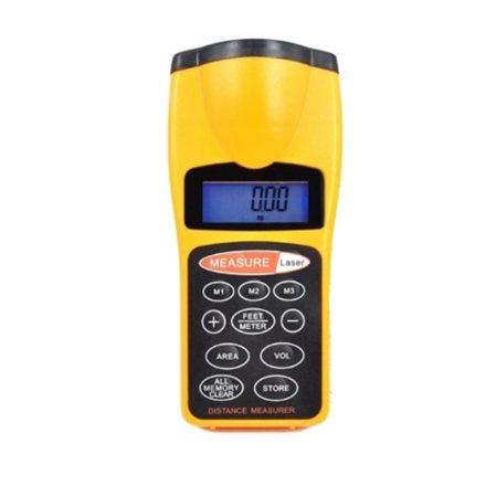 Digitális ultrahangos távolságmérő 18m-ig - Felejtsd el a hagyományás mérőeszközöket! RAM-MD146