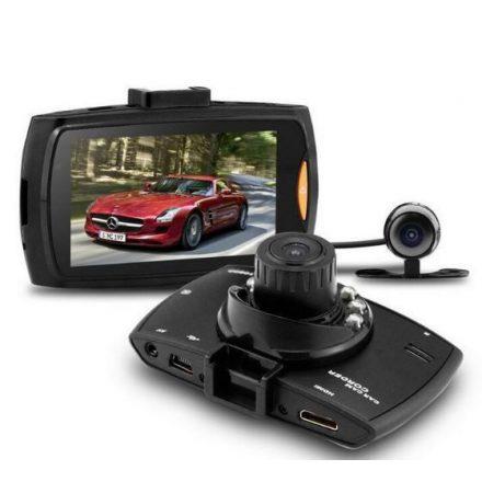 RVN Fedélzeti és Tolató kamera Full HD-s Magyar menüs - Két kamerás eseményrögzítő CH-SW131