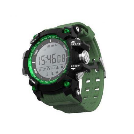 Bass-O1 okosóra zöld - Az igazán sportos férfi alapkelléke aktivitásmérés,értesítések. RAM-MD70
