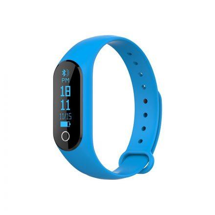 Topshelf okoskarkötő kék - Pulzusmérős aktivitás mérő androidra és IOS-ra. (TP-KU650BL)