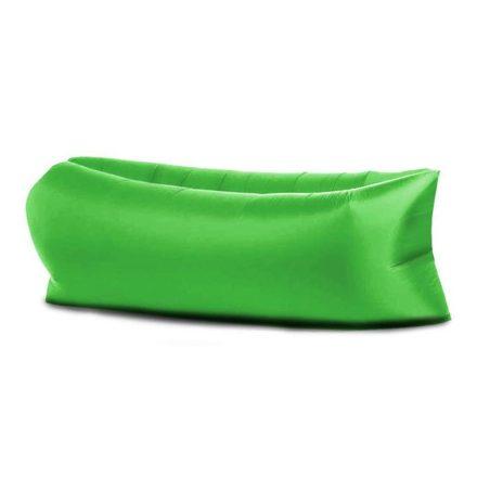 Lazy Bag -zöld-- Felfújható matrac a kényelemért bárhol,bármikor. RAM-MD183