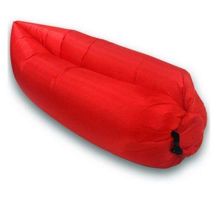 Lazy Bag -piros-- Felfújható matrac a kényelemért bárhol,bármikor. RAM-MD179