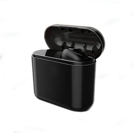 Fekete Pluggy fülhallgató + Powerbank NZH-CW804