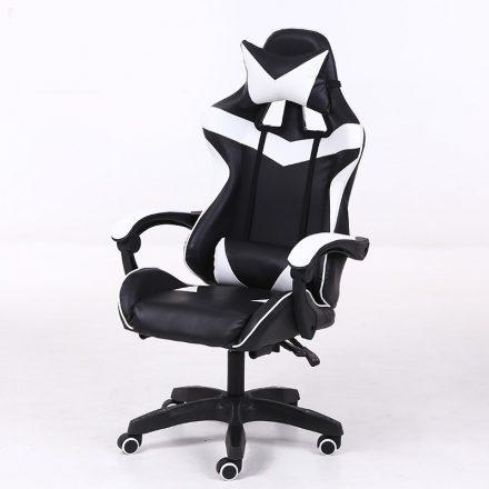 RACING PRO X Gamer szék , fehér-fekete (RP-SW110FF)