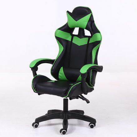 RACING PRO X Gamer szék , Zöld-Feket (RP-SW110ZF)