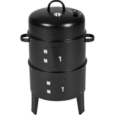 Grill master BBQ Smoker Multifunkciós grillsütő és füstölő NDG-DE673