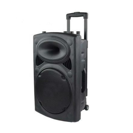 Brit&Club P12 Professzionális akkumulátoros aktív hangfal mikrofonnal SC3-CW760