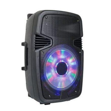 Brit&Club W6008 Hordozható akkumulátoros Bluetooth hangfal, beépített led, mikrofonnal SC3-CW762