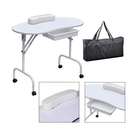 Homeland Hordozható manikűrös asztal-fehér (HO-SW110FH)