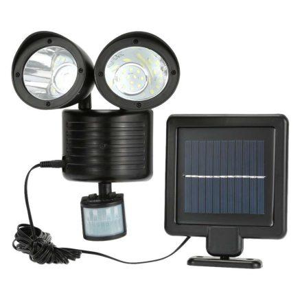 Prolight Dupla mozgásérzékelős szolár világítás - Automatikusan működésbe lép, ha érzékeli a sötétedést! PRL-C23729