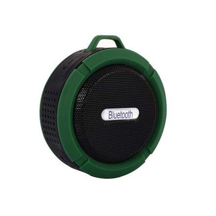 Brit&Club C6 vízálló Bluetooth hangszóró - zöld SC3-CW743
