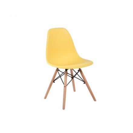 Homeland  4 db modern konyhai szék sárga  (SW110SA)