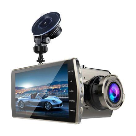 RVN V5 autóskamera kettős objektívvel és HD kijelzővel  CH-SW133
