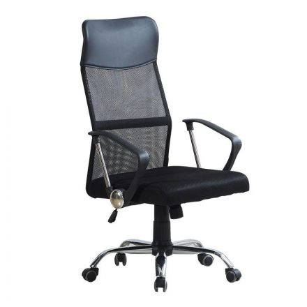 Leon irodai szék fekete (LE-SW110FK)