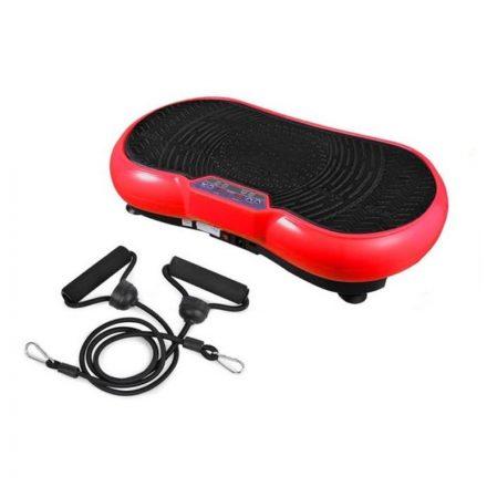 Brit&club Vibrációs edzőpad Világos Piros -Fehér  STH-T432R78