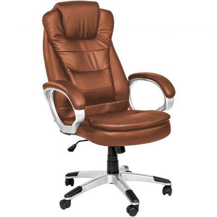 OfficeTrade Főnöki szék barna (OFF-SW110BR)