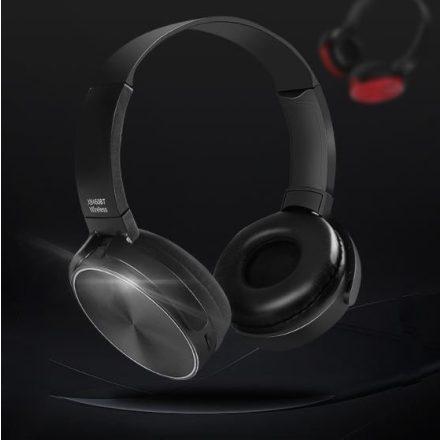 Crispy 450TB Fekete Bluetooth fejhallgató NZH-CW792