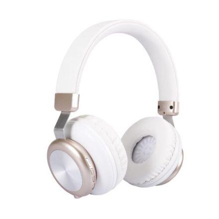 Sol H4 Bluetooth fejhallgató Fehér NZH-CW841