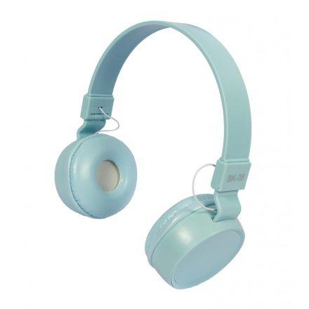 Liro bk05 fejhallgató kék NZH-CW826