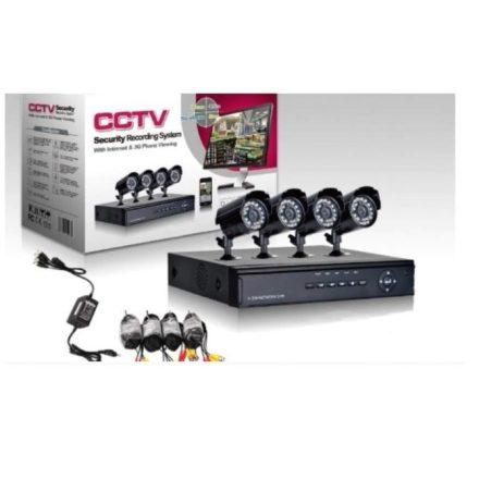 4K Jortan CCTV biztonsági kamera szett JRK-CW72