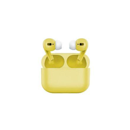 Air pro vezeték nélküli fülhallgató - sárga NZH-CW784