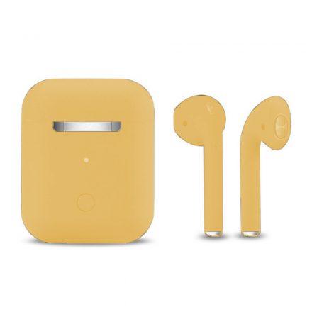 Inpods 12 Macaron fülhallgató Sárga  NZH-CW816