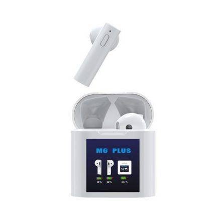 Air M6 Plus hőmérővel - TWS Bluetooth fülhallgató NZH-CW778