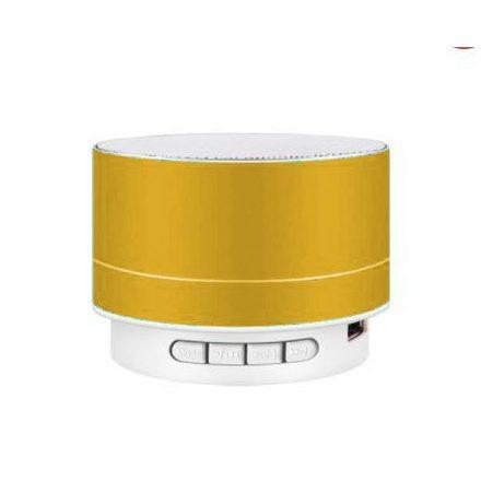Brit&Club A10 Bluetooth hangszóró fémes sárga SC3-CW732
