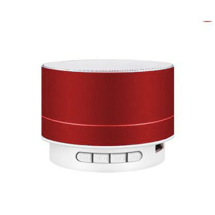 Brit&Club A10 Bluetooth hangszóró fémes piros SC3-CW731