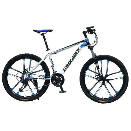 Laux Jack mountain bike kék-fehér csillag küllős kivitel
