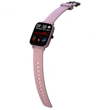 Tundera pulzusmérő rózsaszín okos óra (TU-SU654P)