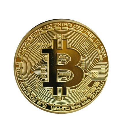 Bitcoin dekorációs érme RAM-MD134