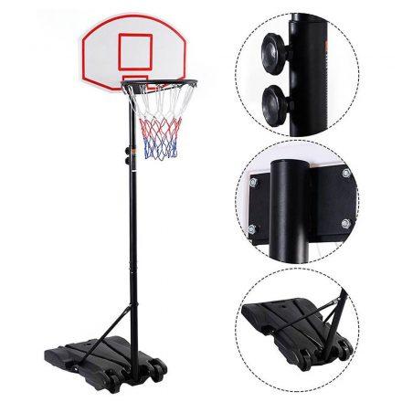 Mobil állítható kosárlabda palánk