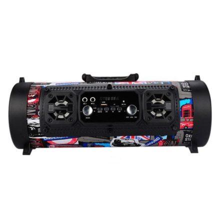 RVN M17 bluetooth hangszóró -A buli két legfontosabb kelléke zene és fények RAM-MD379